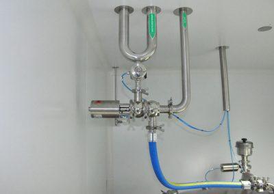 Lazos de agua purificada